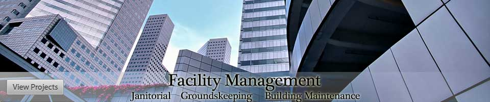 janitorial groundskeeping building maintenance